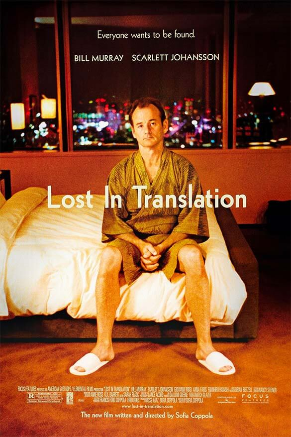 Lost in Translation - one of the best travel movies