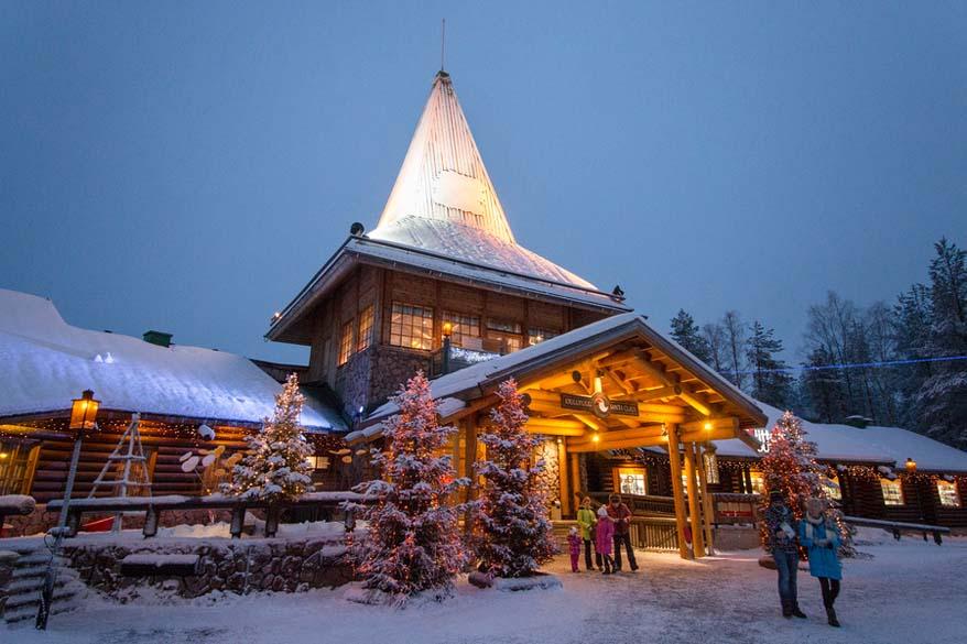 Santa's Village in Rovaniemi Finland