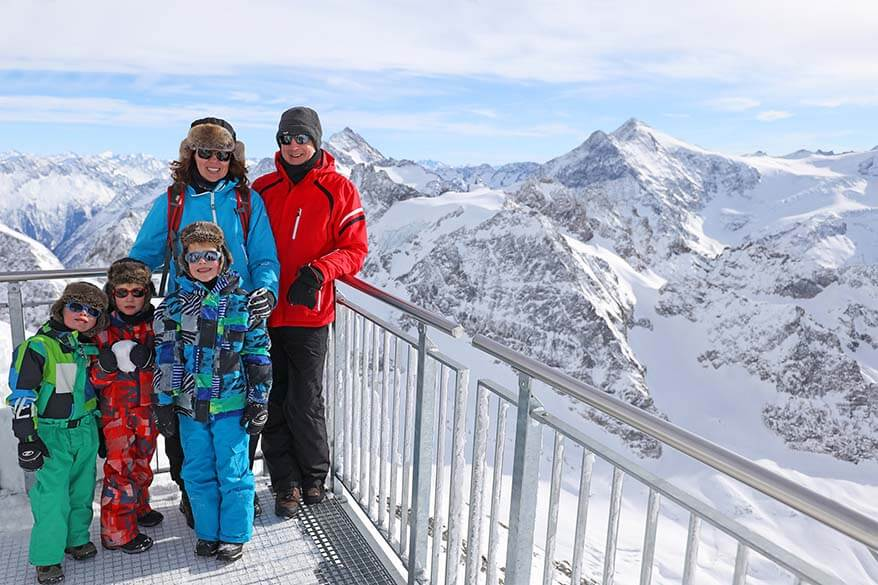 Swiss Alps is our favourite family destination