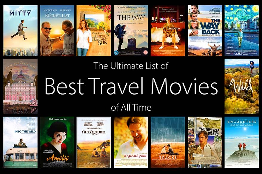 The ultimate list of all time best travel movies