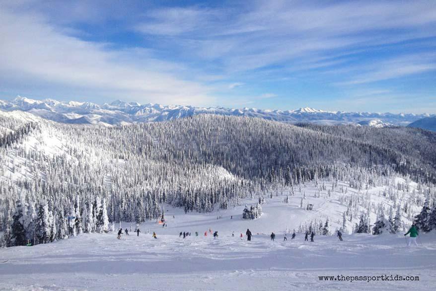 Whitefish ski resort Montana