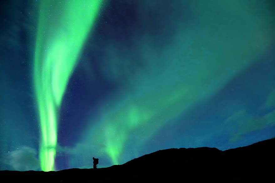 Seeing northern lights is a bucket list experience