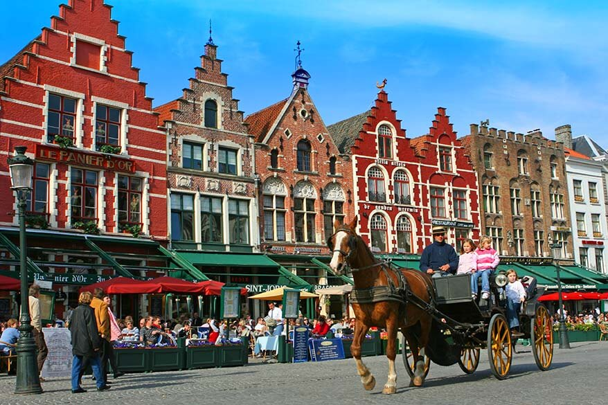 Bruges is not to be missed - suggested Belgium itinerary for 3 or 4 days