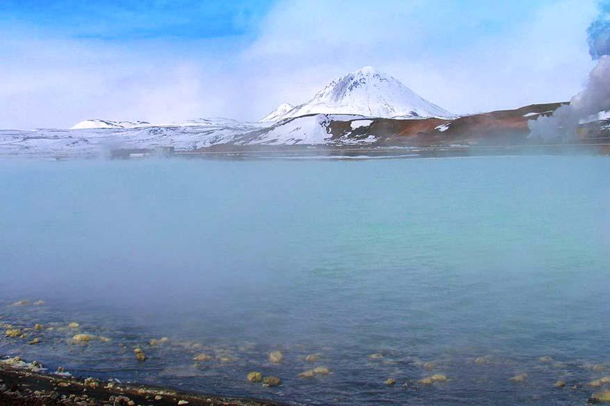 Myvatn Nature Baths - geothermal pool in Iceland