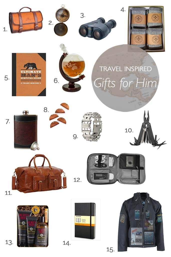 Great Gifts For Men Part - 45: Best Travel Inspired Gifts That Will Impress Every Man. Great Ideas For  Holidays, Birthdays