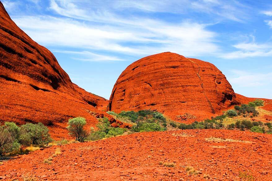 Kata Tjuta rocks in Australia's Red Centre