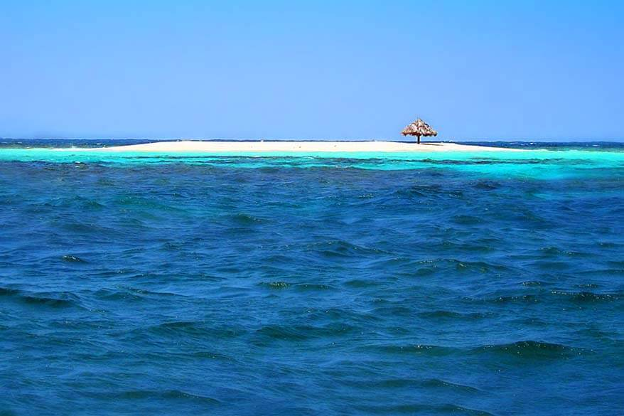 Tiny Mopion island in the Caribbean. Sint Vincent and the Grenadines