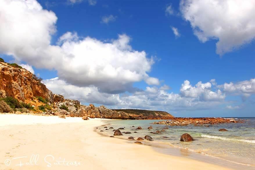 Stokes bay beach on Kangaroo Island