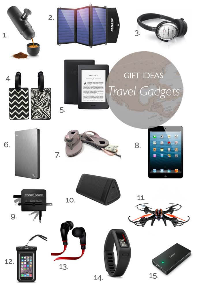 Travel gadgets gift ideas for the tech savvy globetrotter