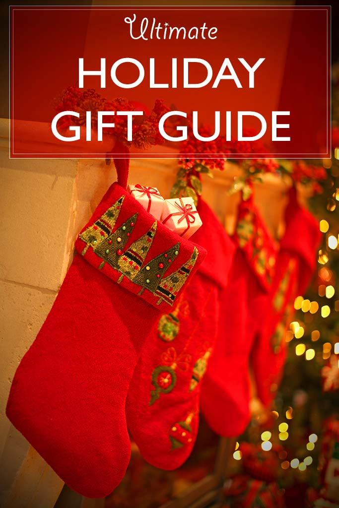 Ultimate holiday gift guide. 11 great lists with travel inspired gift ideas for men, women and children. Get inspired!