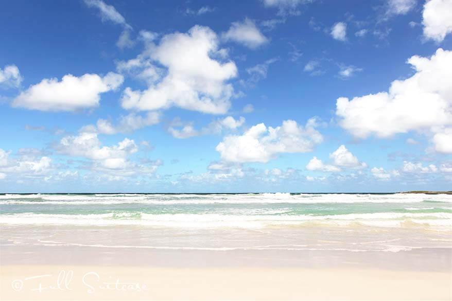 Vivonne Bay beach on Kangaroo Island - one of Australia's best beaches