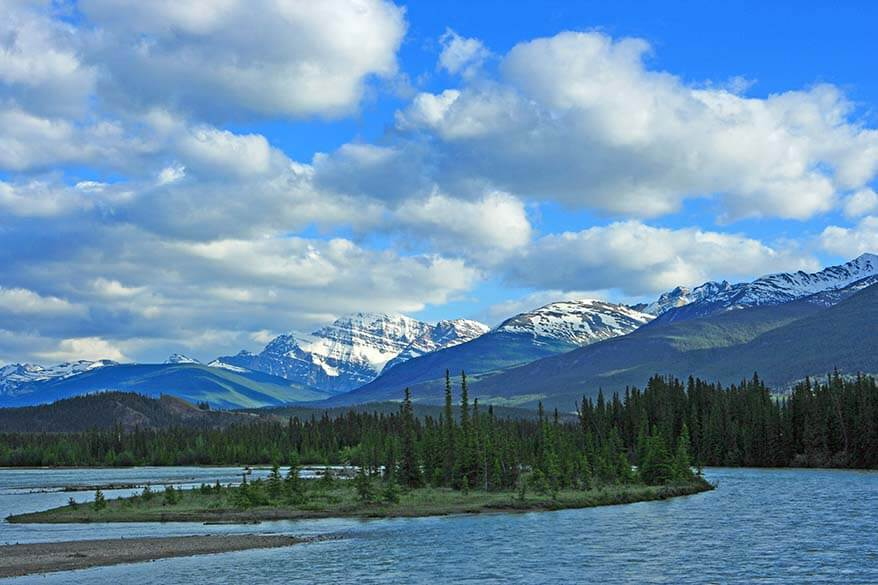 Jasper National Park in British Columbia Canada