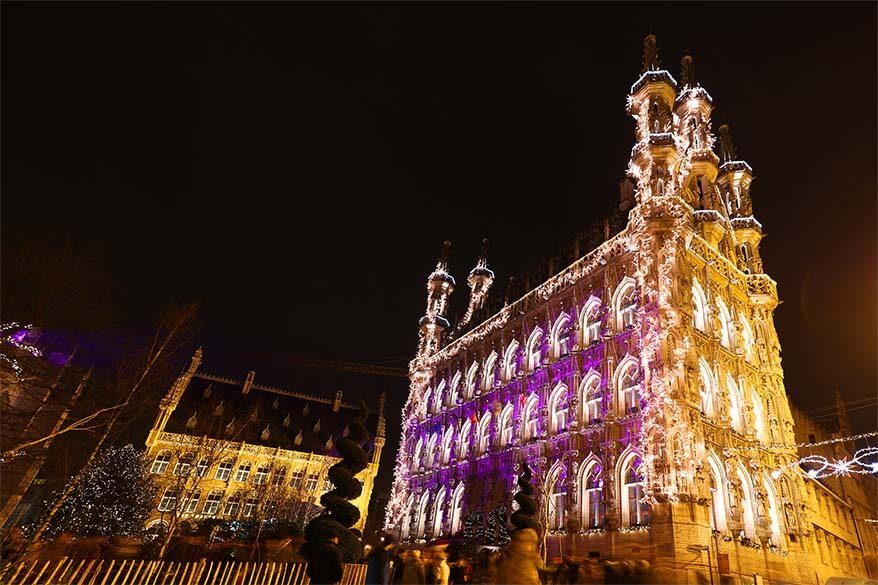 Leuven Christmas market and other fun experiences for the holiday season. This is our favourite town in Belgium!
