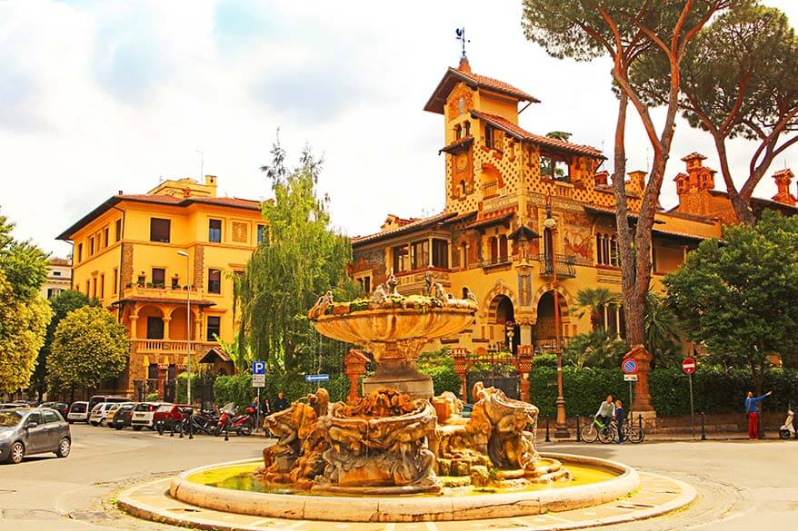 Quartiere Coppede in Rome