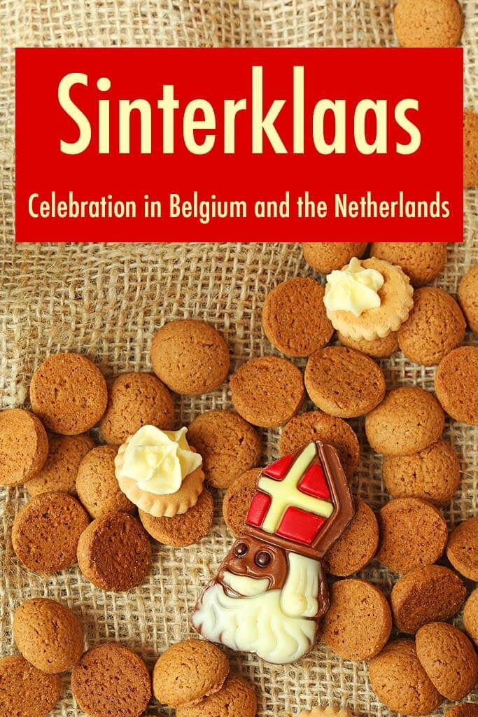 Saint Nicholas day - Sinterklaas celebration in Belgium and the Netherlands. Christmas traditions worldwide.