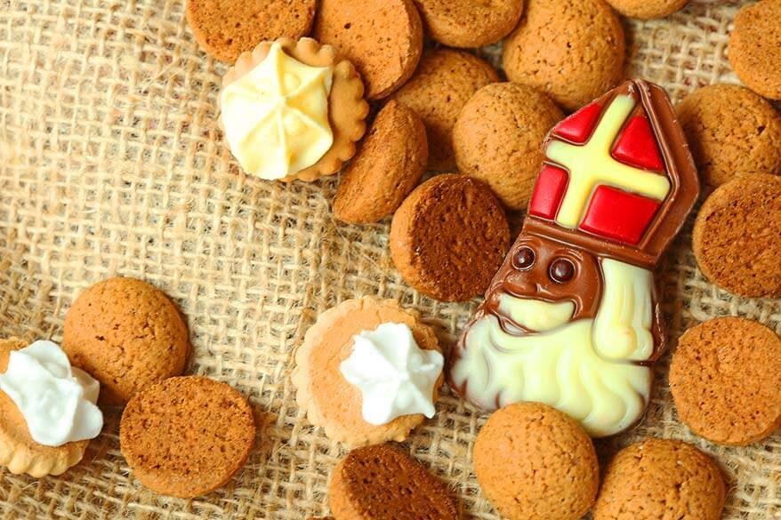Sinterklaas celebration in Belgium and the Netherlands