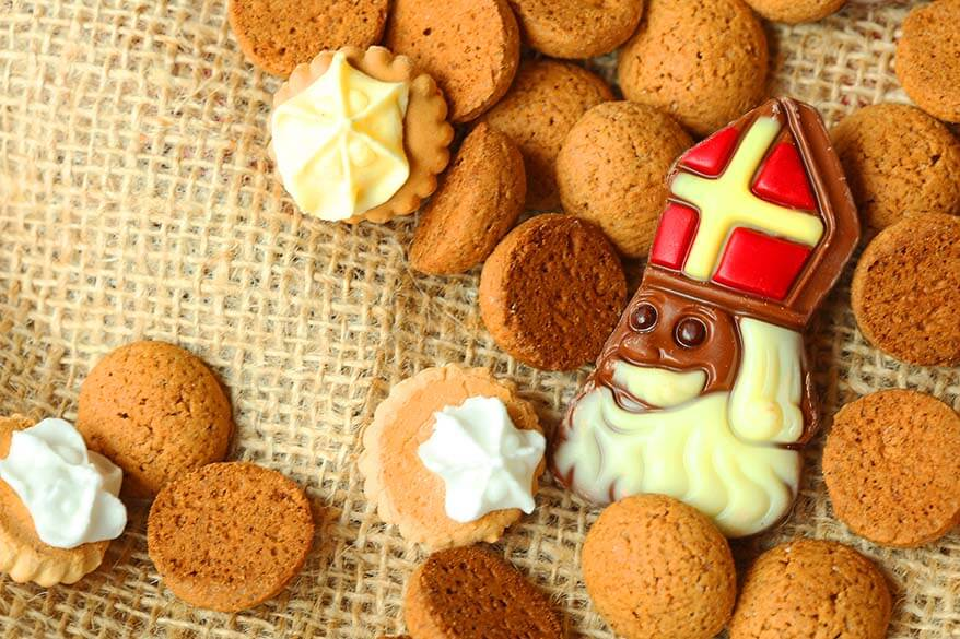 Sinterklaas celebration in Belgium and the Netherlands