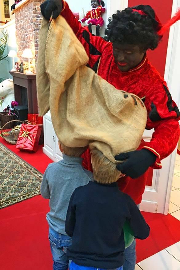 Zwarte Piet - Saint Nicholas day celebrations in Belgium and the Netherlands