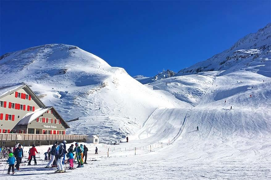 Affordable skiing in Switzerland