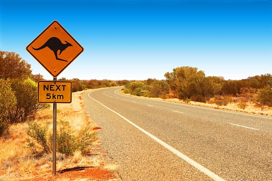 Australia Red Centre family road trip itinerary