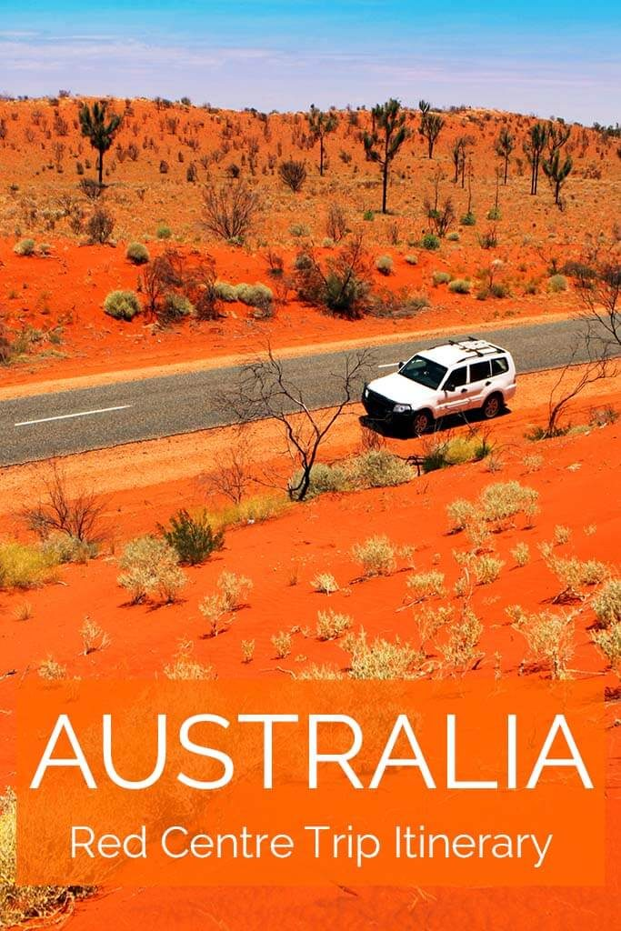 Australia Red Centre trip itinerary. Family road trip covering all the main highlights, like Ayers Rock, Kings Canyon and more