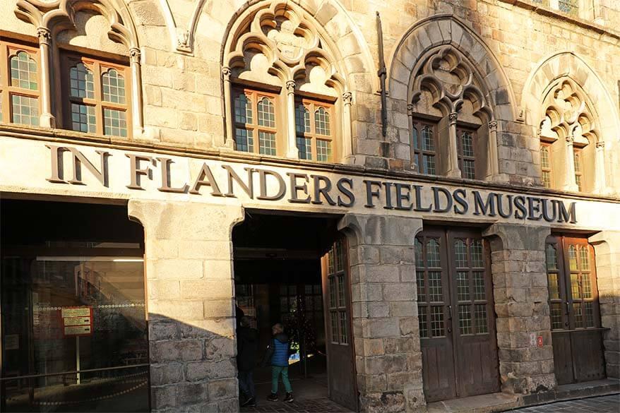 In Flanders Fields Museum Ypres (Ieper) Belgium