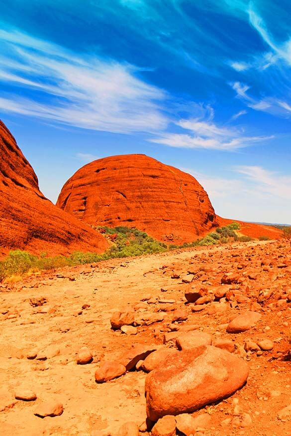 Karu Lookout - The Valley of the Winds in Kata Tjuta Australia