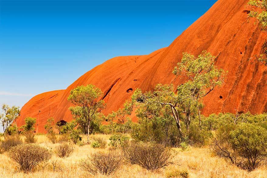 Uluru - Ayers Rock from the base walk