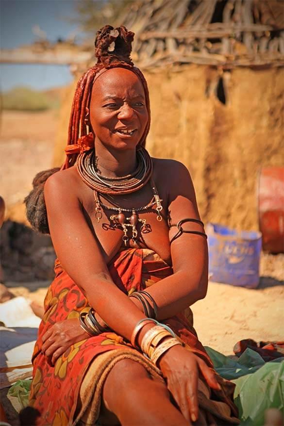 Himba woman in Namibia