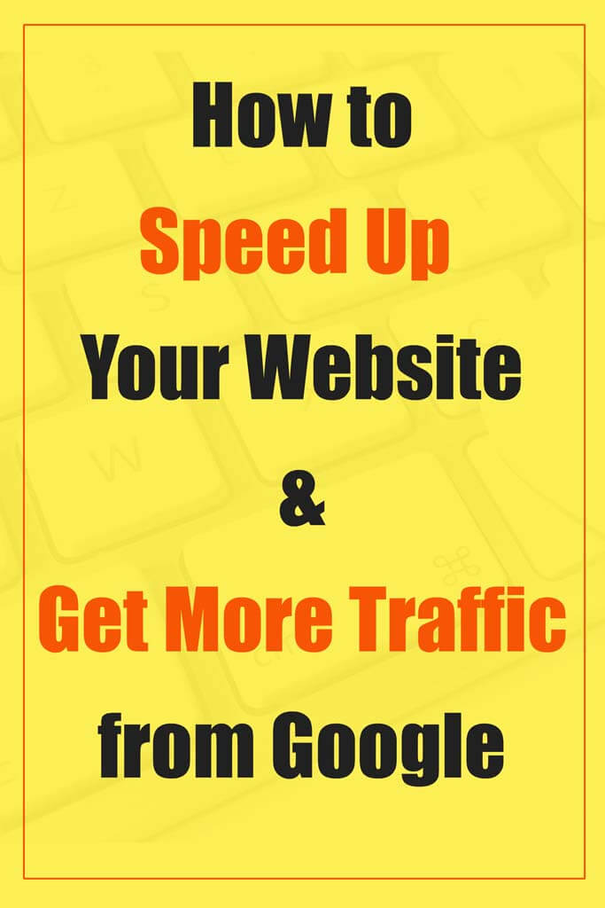 Best blogging tips. How to speed up your website and get more organic traffic from Google