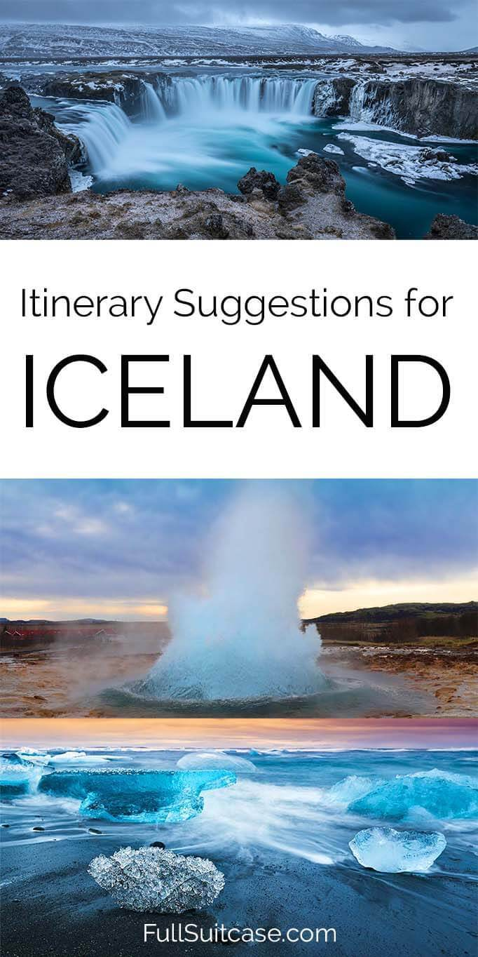 Best Iceland itinerary - one day to two weeks