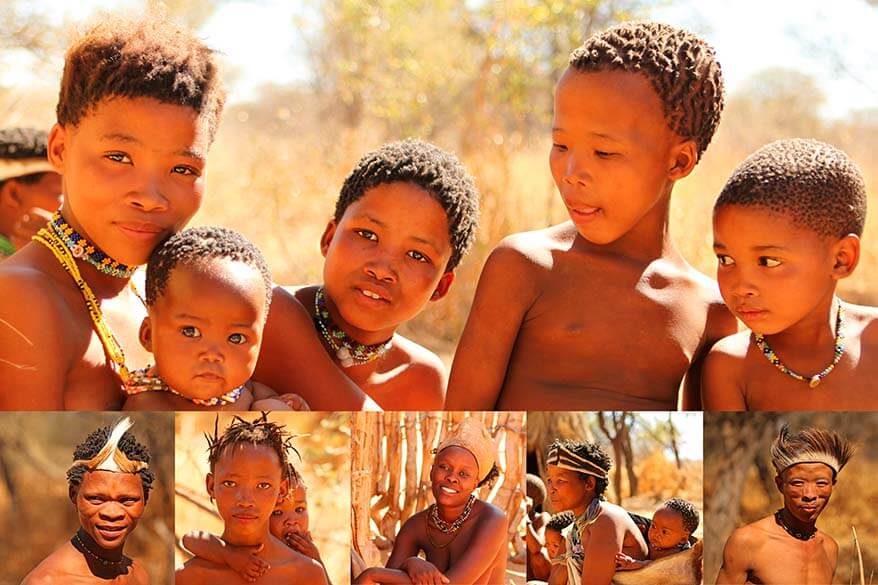 Where to see the indigenous tribes in Namibia - visit the Himba, San, Damara and Herero people