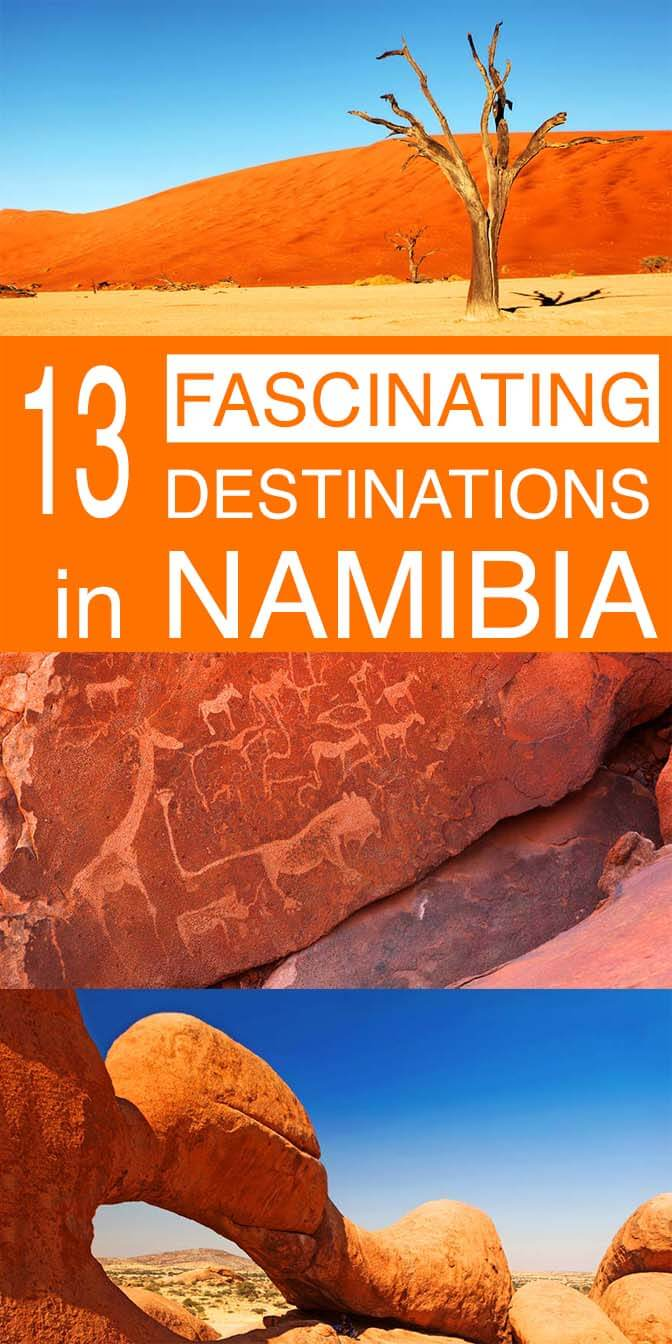 13 fascinating destinations not to miss in Namibia