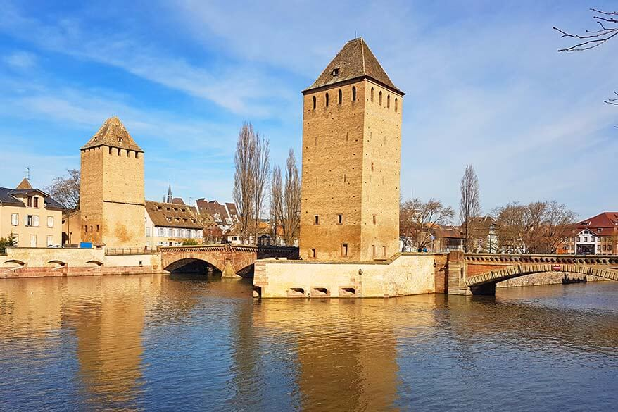 Ponts Couverts Strasbourg France