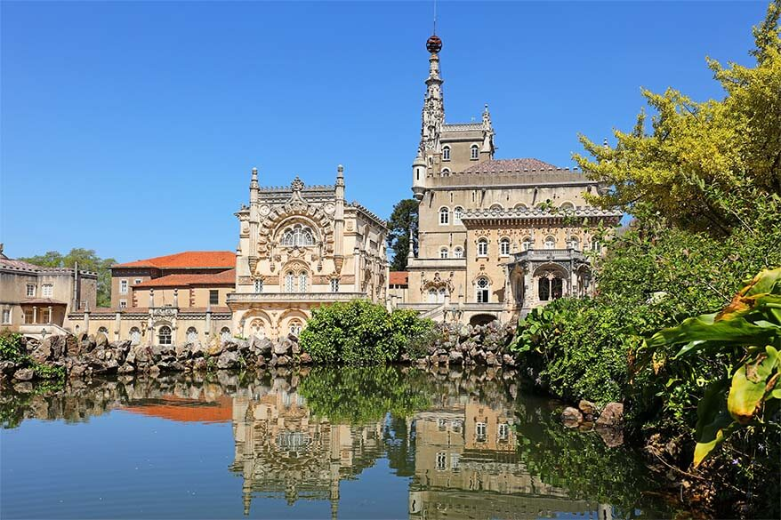 Bussaco Palace Hotel at Mata do Bucaco Portugal