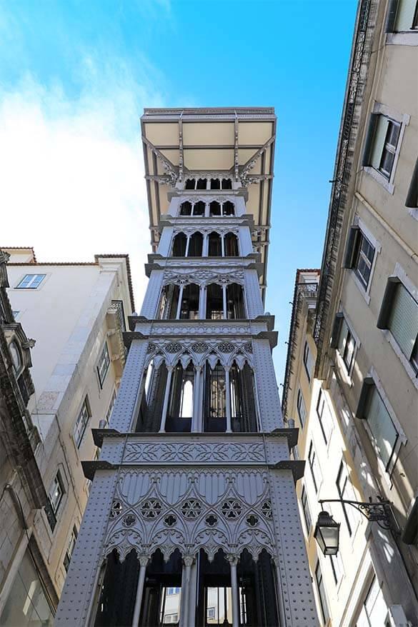 Elavador de Santa Justa - Santa Justa Lift Lisbon
