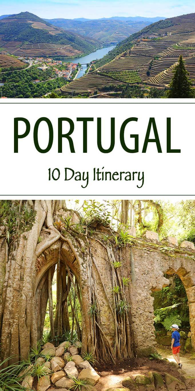 How to spend 10 unforgettable days in Portugal. See the best of Portugal with this trip itinerary