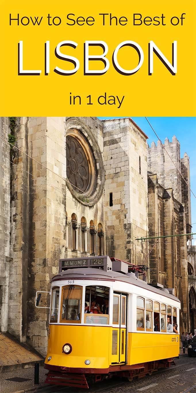 How to spend a perfect day in Lisbon Portugal. See the main highlights of Baixa, wander the narrow streets of Alfama, take Santa Justa elevator and end the day in Lisbon with a sunset sailing cruise on Tagus river. Find all of this and much more in this guide to the best of Lisbon!