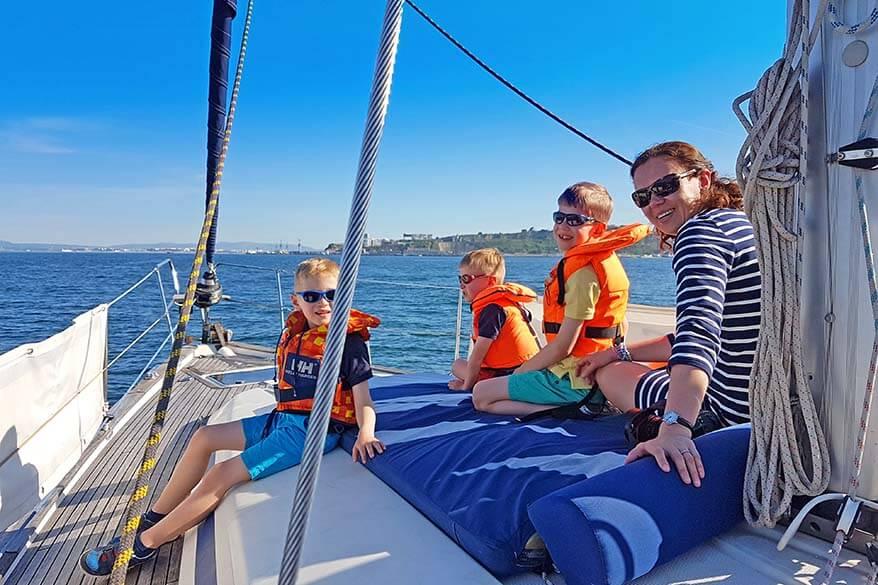 Lisbon sailing cruise