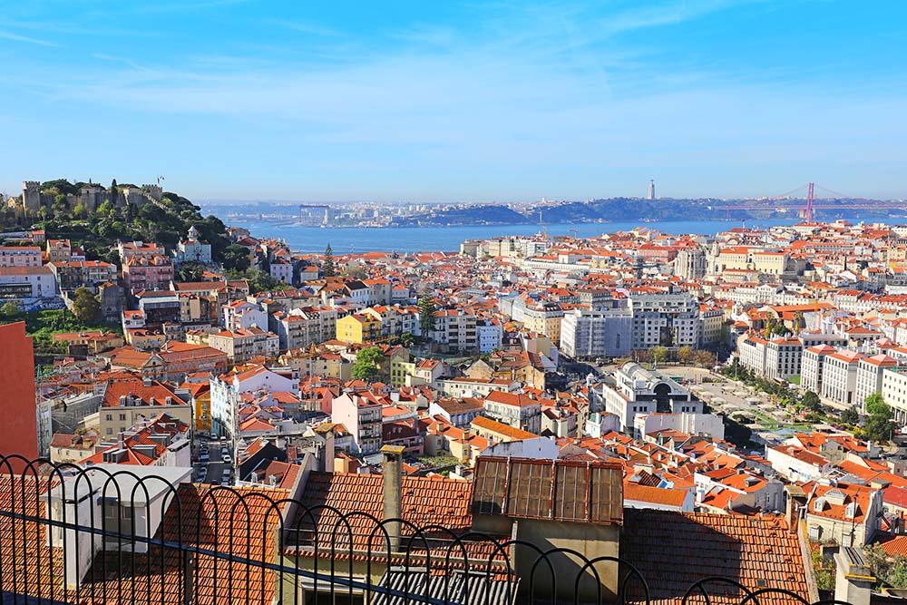 Miradouro da Senhora do Monte in Lisbon