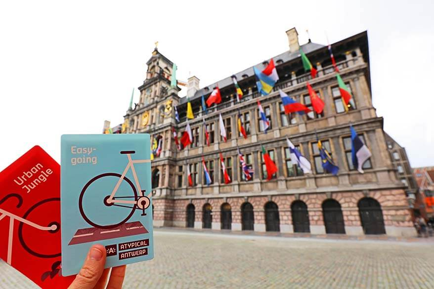 Antwerp bike route maps