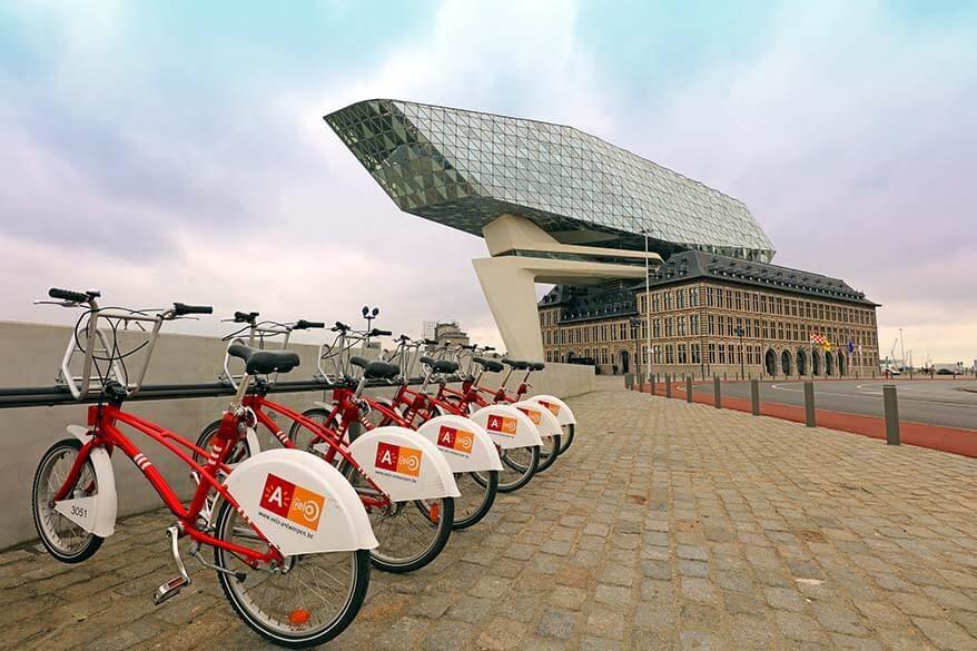 Off the beaten path in Antwerp by bike
