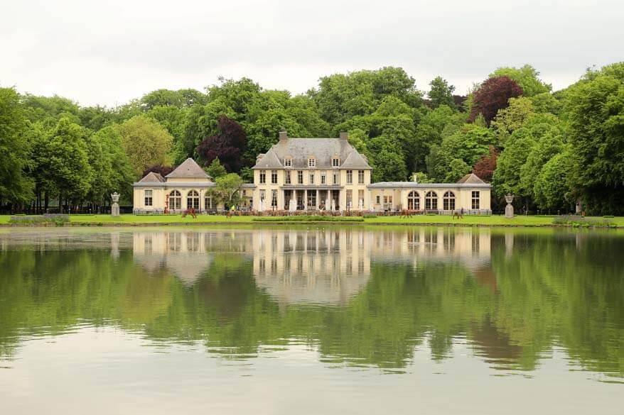 Rivierenhof Castle in Antwerp Belgium