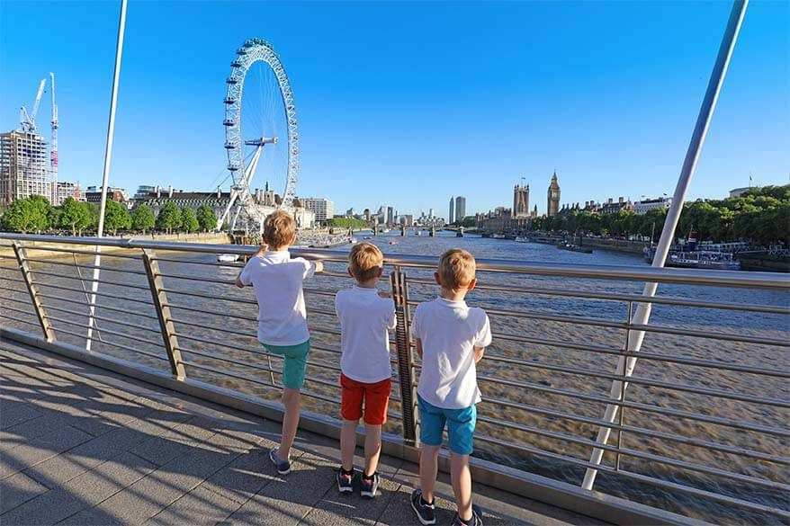 10+ Best things to do in London with kids, especially if visiting London with family for the first time