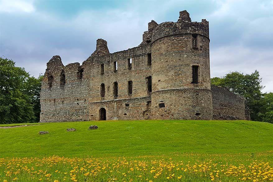 Balvennie Castle in Scotland
