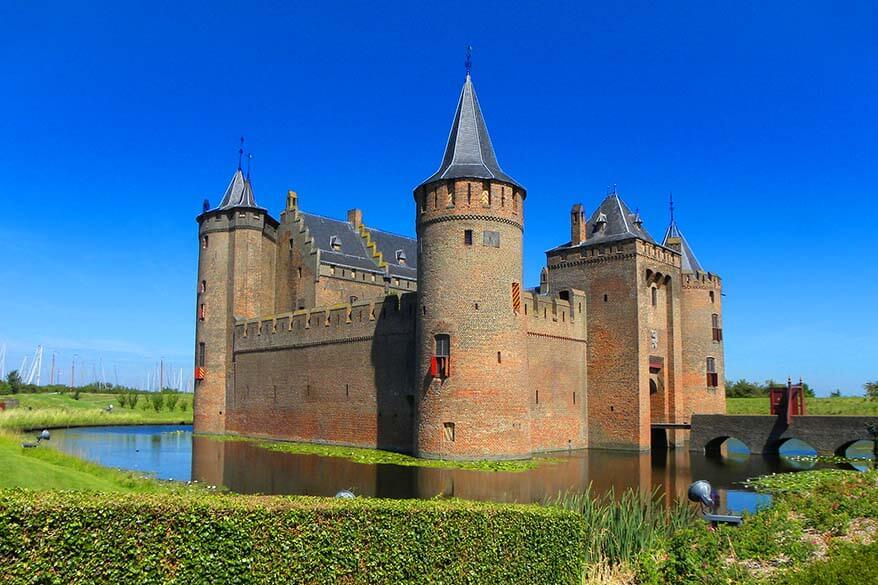 Best day trips from Amsterdam - Muiderslot Castle in Muiden