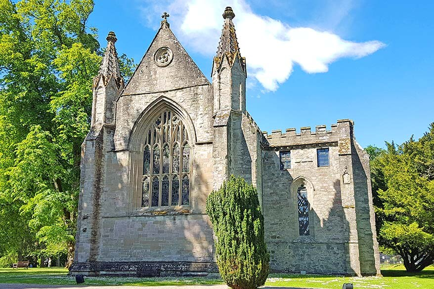 Dunkeld Cathedral in Scotland