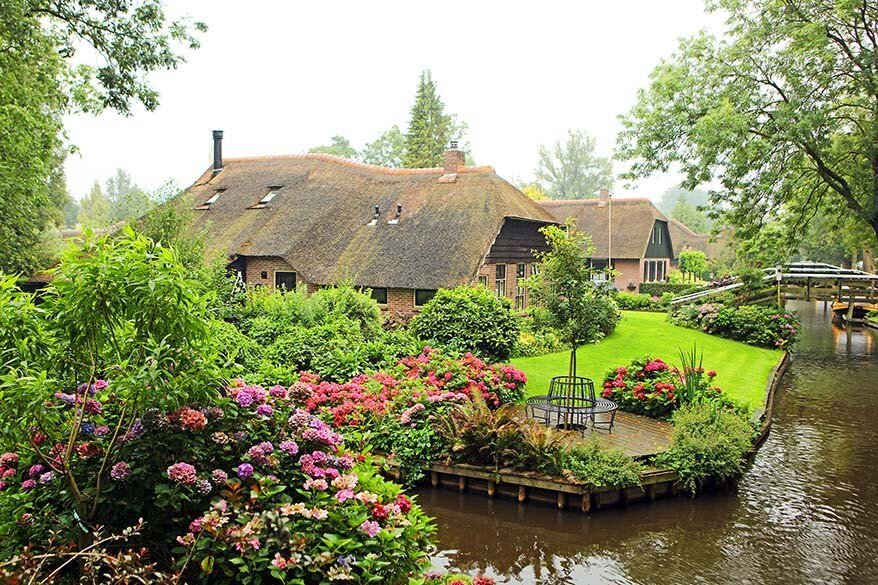 Giethoorn is one of the best day trips from Amsterdam in the Netherlands