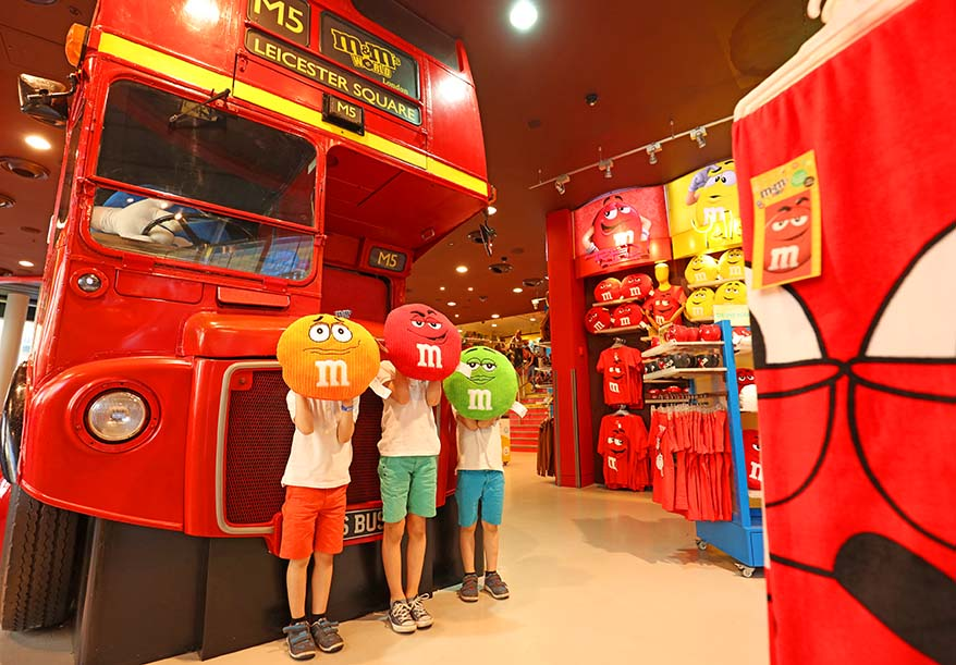Kids will love visiting toy shops in London