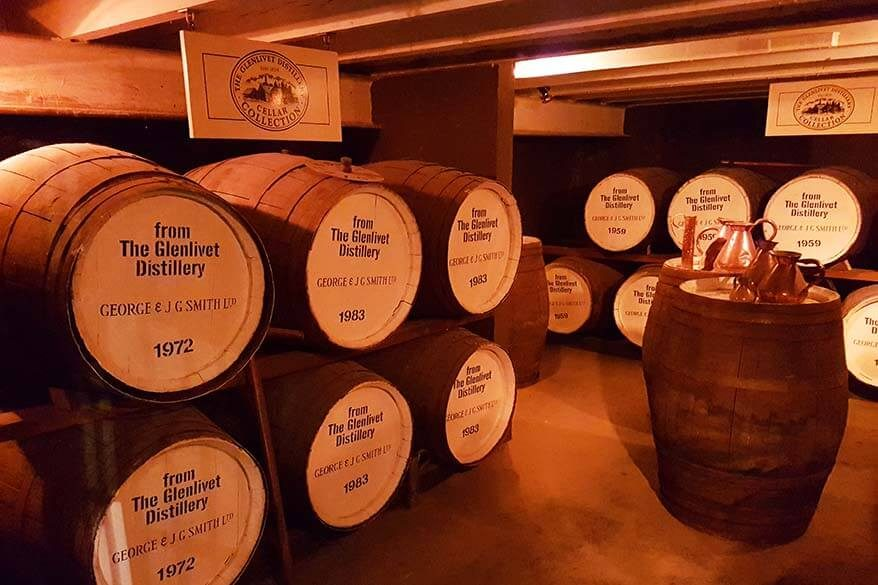 The Glenlivet Distillery - one of the best stops during our 3-day Scottish whisky tour